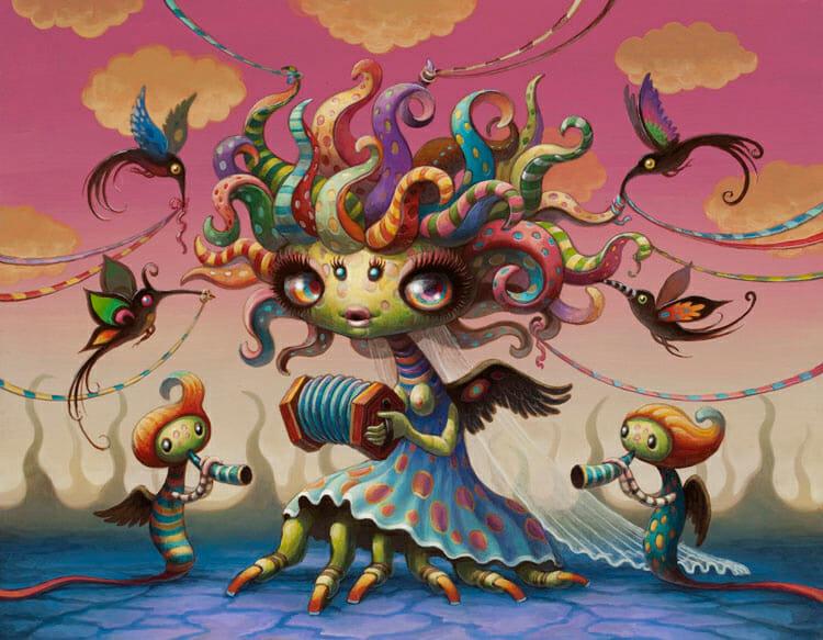 Yoko d'Holbachie Solo Exhibition at Copro Gallery Santa Monica, Los Angeles