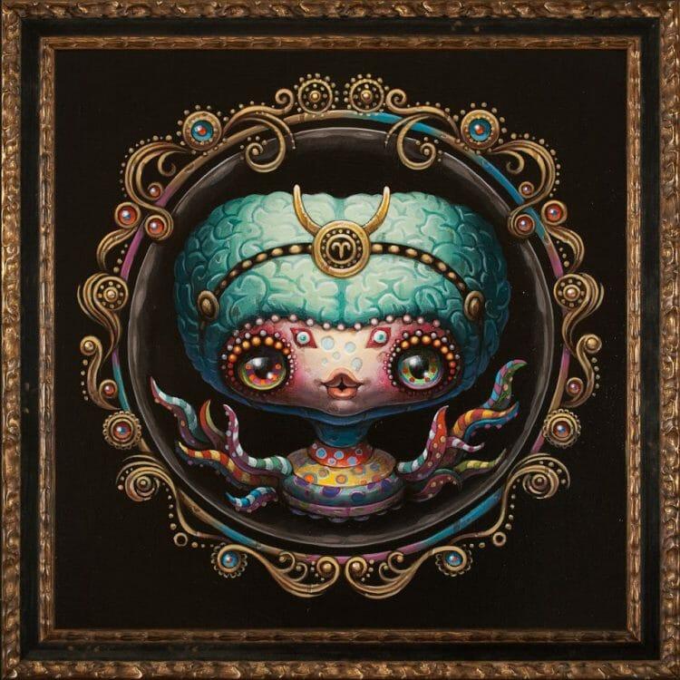 Yoko d'Holbachie - Pop Surrealism - Painting
