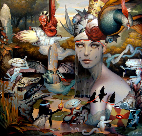 Dan Quintana Oil Painting 001