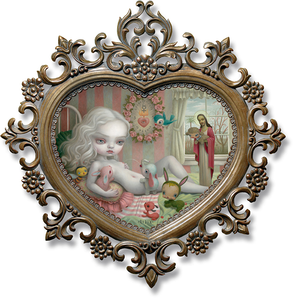 Mark Ryden Pop-Surrealism Surreal symbolism lowbrow oil painting