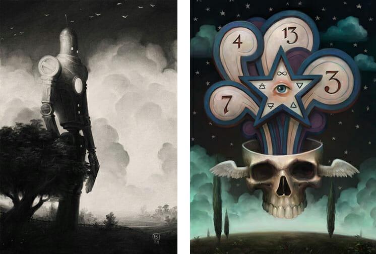 Baker Hesseldenz - 1st Annual Pop Surrealism Masters Art Exhibition 2014 - feat. Brian Despain