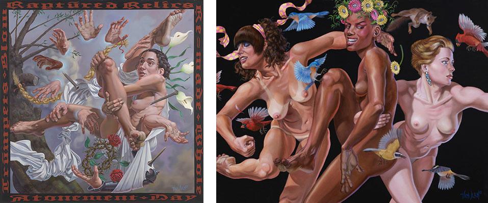 Baker Hesseldenz - 1st Annual Pop Surrealism Masters Art Exhibition 2014 - feat. Van Arno