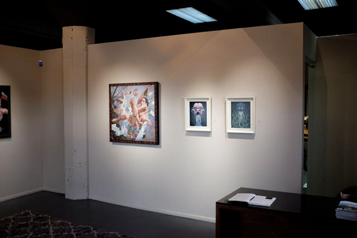 Baker Hesseldenz - 1st Annual Pop Surrealism Masters Art Exhibition 2014