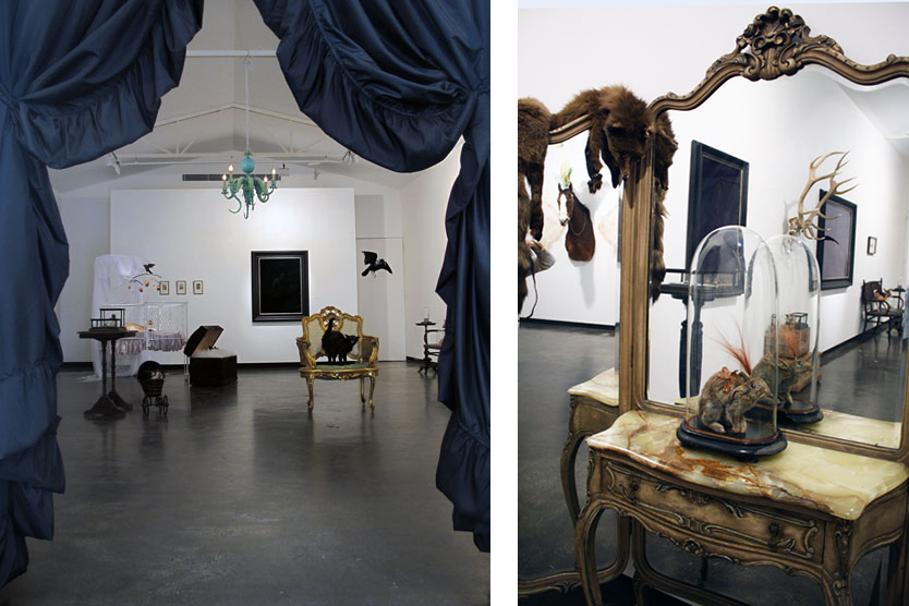 Julia deVille - Phantasmagoria - Taxidermy Art Exhibition at Sophie Gannon Gallery in Melbourne, Australia