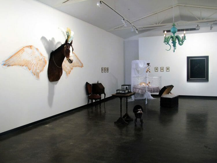 Julia deVille - Phantasmagoria - Taxidermy Art Exhibition at Sophie Gannon Gallery in Melbourne, Australia