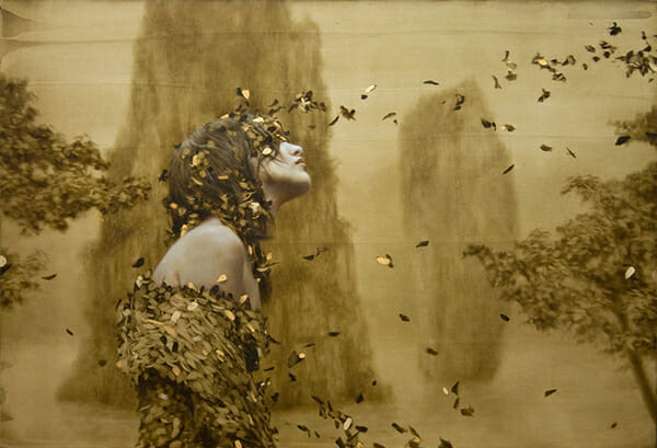 Brad Kunkle abstract nature beauty realism romanticism