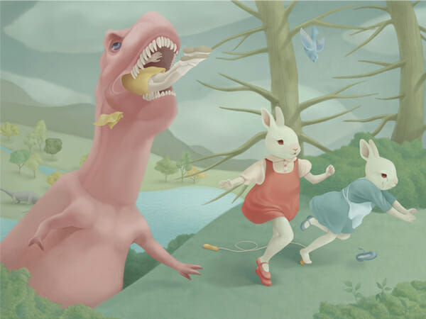 Hsiao Ron Cheng Illustration 003