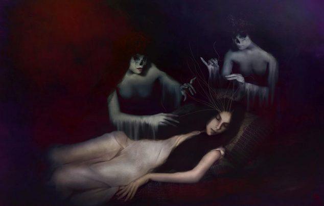 cristina francov, spirits weaving a nexus