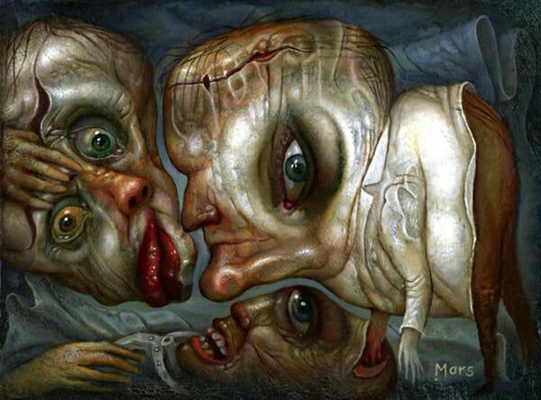 Chris Mars Beautiful Bizarre surreal macabre