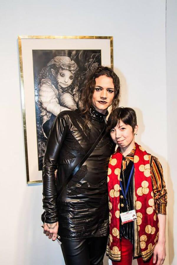 Maiko Kitagawa, la art show 2015