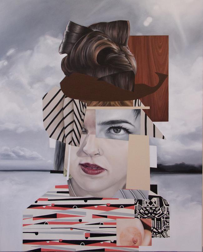 Nehrbass - Lady Dada - Platinum Blend at Modern Eden Gallery San Francisco - Platinum Cheese - art exhibition preview by beautiful bizarre