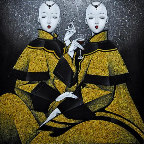 Qiu Shengxian, la art show 2015