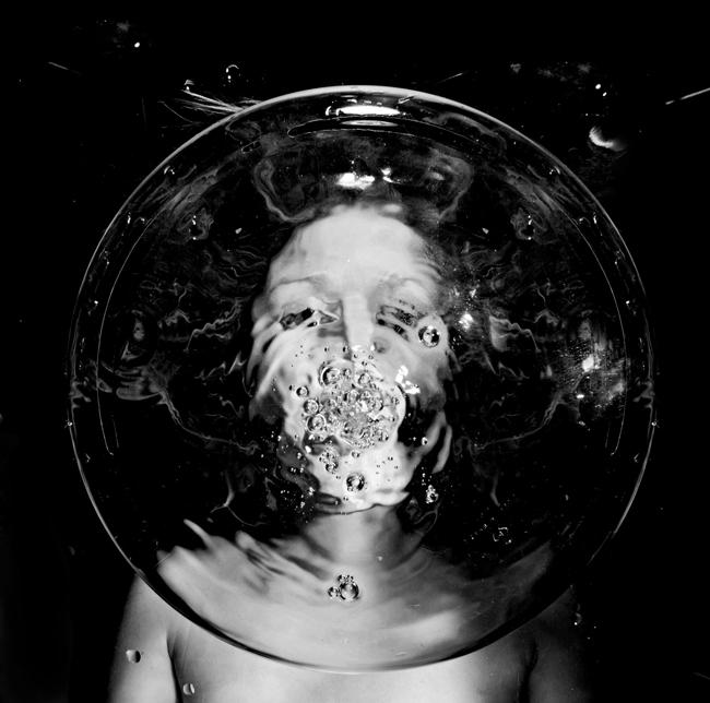 Flora Borsi underwater photography