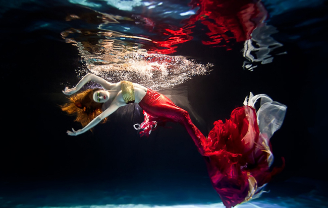 Rafal Makiela - Surreal Underwater Fashion Photography