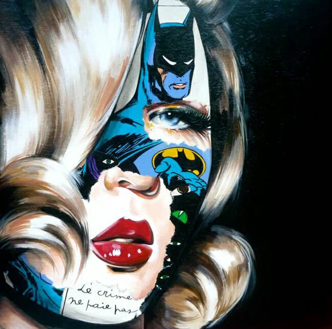 Sandra Chevrier - La Familia - Thinkspace 10th Anniversary Show - art exhibition preview by beautiful bizarre