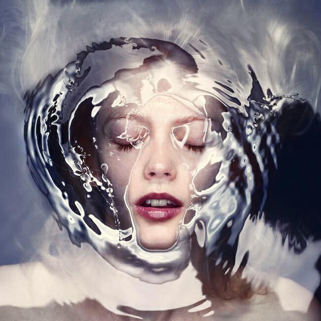 Staudinger + Franke water barrier submerged portraiture