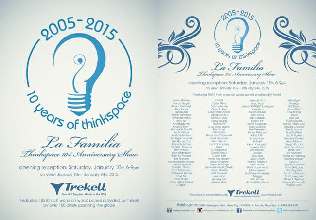 La Familia - Thinkspace 10th Anniversary Show - art exhibition preview by beautiful bizarre