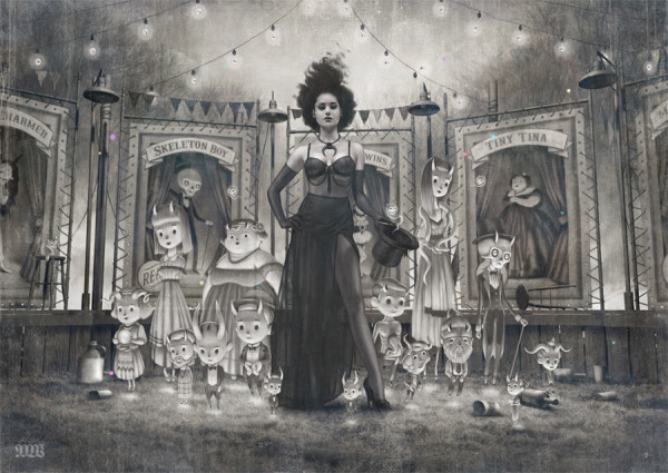 tom bagshaw, chg circa, freaks and americana
