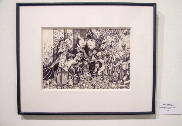 Maiko Kitagawa, Bleicher Gallery, Grayscale Wonderland