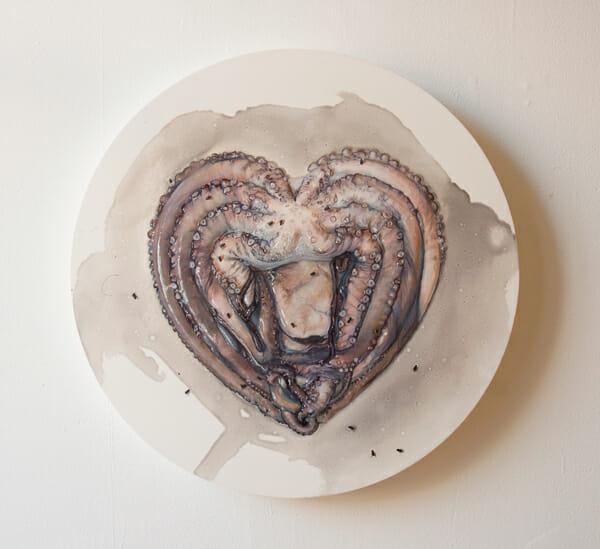 Octo Heart by Alexandra Evans - Adrift @ Marcas Contemporary