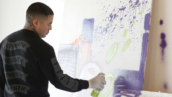 Mural - Street Art - Live Painting - Grafitti - Open Walls @ DAX Gallery Costa Mesa - art in OC