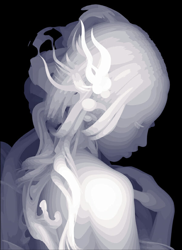Regret by I Can DoIt Because I am a Doll by Kazuki Takamatsu - art exhibition at Dorothy Circus Gallery