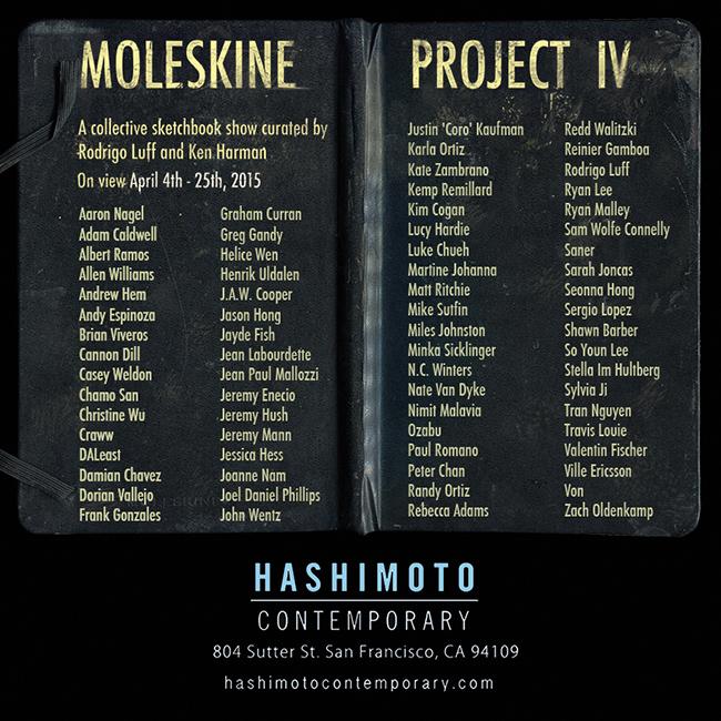 moleskine project IV_beautifulbizarre