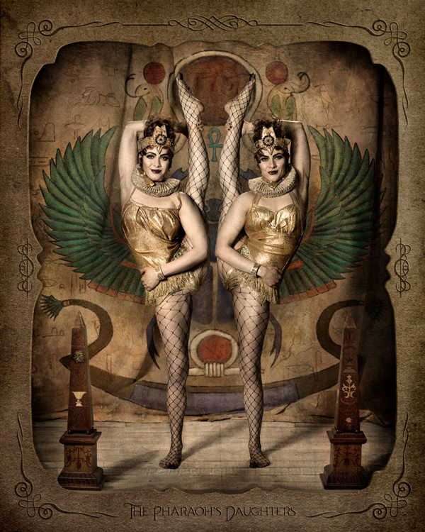 The Pharaoh's Daughters by Ransom & Mitchell - retrospective exhibition at Vanilla Gallery Japan
