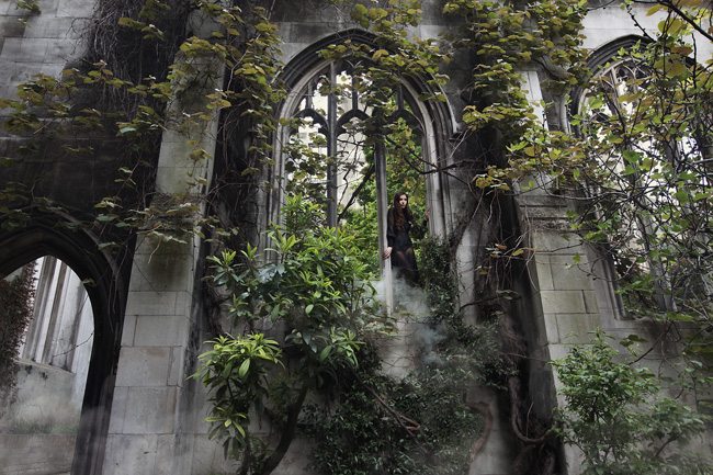Finding beauty in abandoned places: The photography of Rebecca Bathory