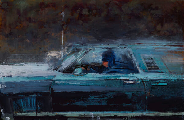 'Commute' by William Wray @ Merry Karnowsky Gallery