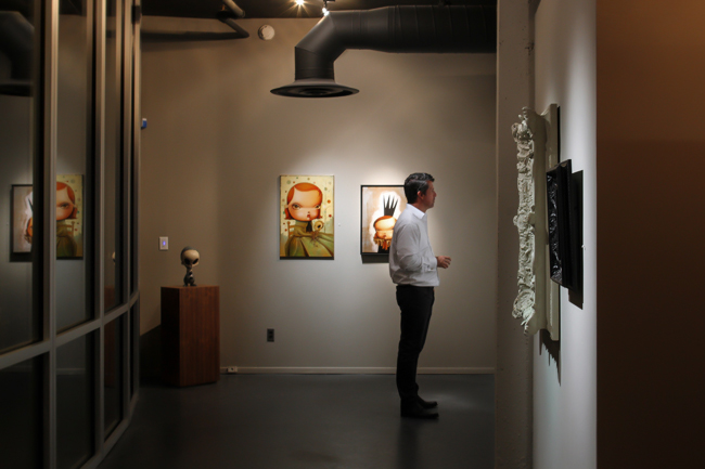 Scott Baker @ Baker Hesseldenz Fine Art Gallery in Tucson, Arizona - An interview with beautiful.bizarre art quarterly