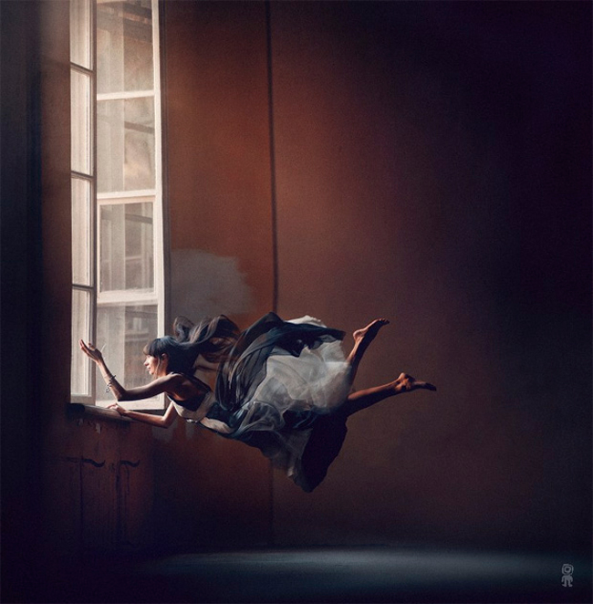 Nikolay Thikomirov - levitation photography