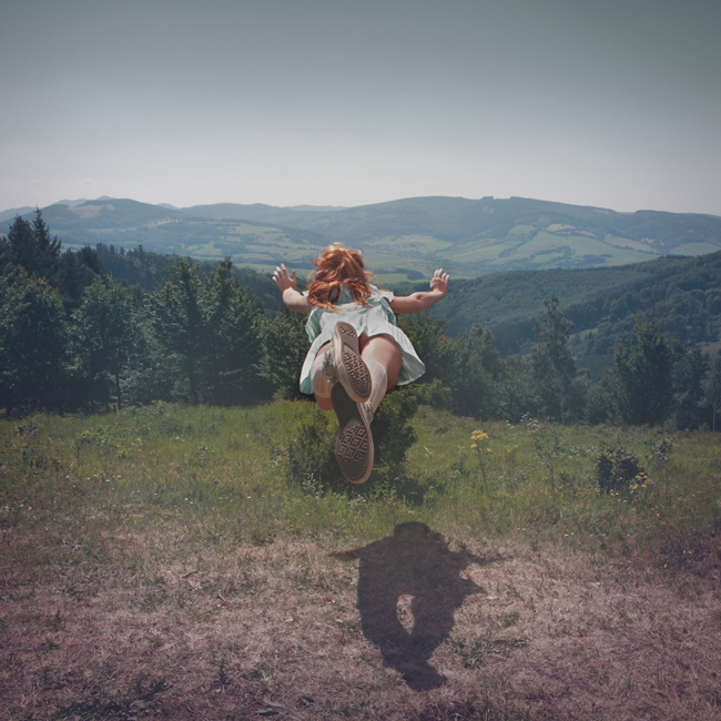 Tereza Vlckova - floating photography