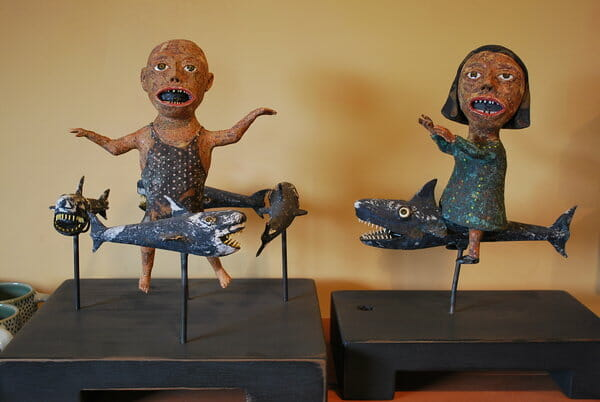 Wesley Anderegg a Menagerie in Clay