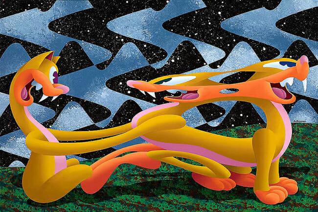 Anthony Ausgang @ Copro Gallery via beautiful.bizarre art journal