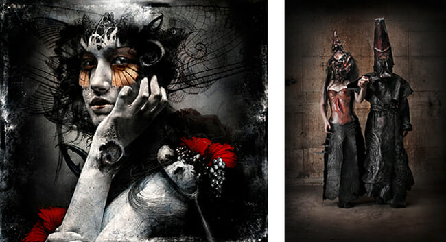 Goth - Dissection and Suture - a special gothic themed art exhibition at Vanilla Gallery (Tokyo, Japan) - preview by Beautiful Bizarre