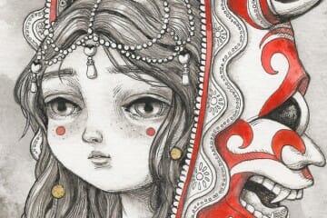 """""""Princess"""" by Julia Sonmi Heglund @ Marcas Contemporary"""