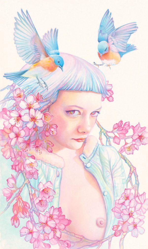 tracy_lewis_pink_yellow_blue_beautifulbizarre7