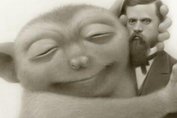 "Travis Louie, ""Martha and Her Mammoth"" @ Roq La Rue, Seattle - article by beautiful bizarre"