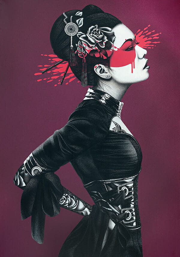 """Nadeshiko"" by Fin DAC @ CAVE Gallery"