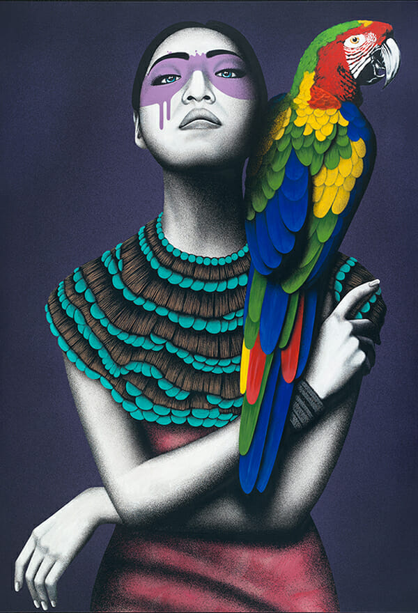 """Alabaster"" by Fin DAC @ CAVE Gallery"