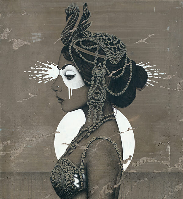 """Odettia"" by Fin DAC @ CAVE Gallery"