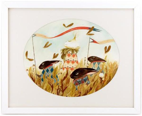 amelie flechais, fantastical flora and fauna, onion art