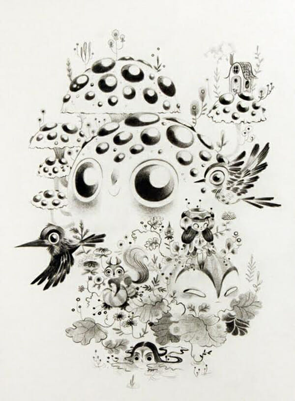 Lorena Alvarez Gomez, fantastical flora and fauna