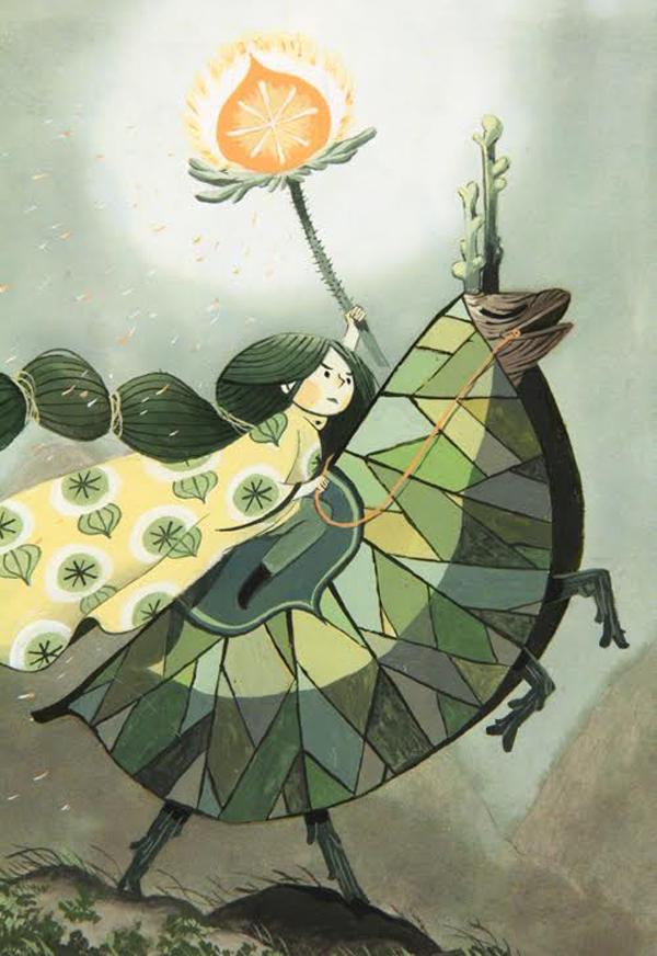 amelie flechais, fantastical flora and fauna, dandelion