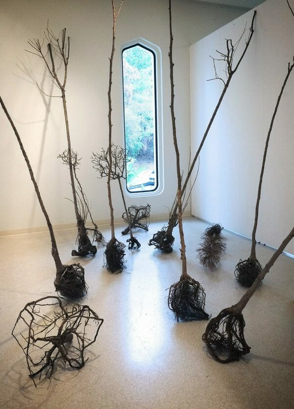 thread bare group exhibition, Sigrid Orlet, thread/bare, threadbare, brand library