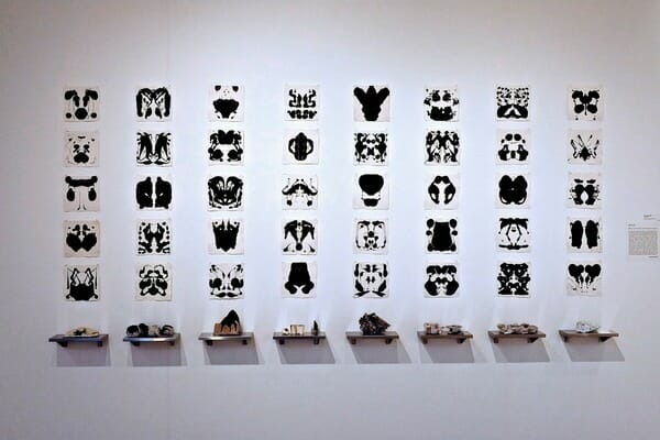 thread bare group exhibition, Janet Neuwalder, thread/bare, threadbare, brand library