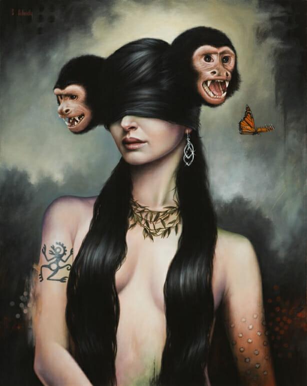 """""""Monkey Queen"""" by Scott Scheidly"""