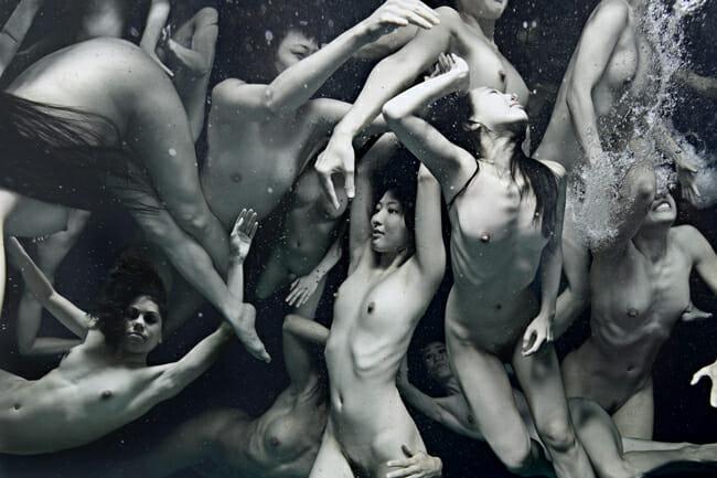 Tomohide Ikeya 「BREATH - MOON」 @ Vanilla Gallery - read more about it on beautiful.bizarre