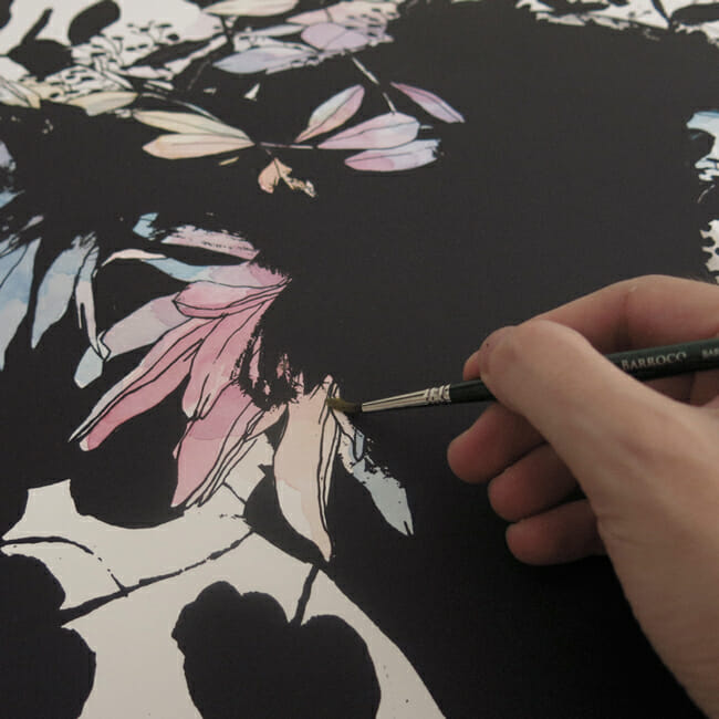 'Pale' - Conrad Roset Solo Exhibition @ Spoke Art Gallery - preview by beautiful.bizarre